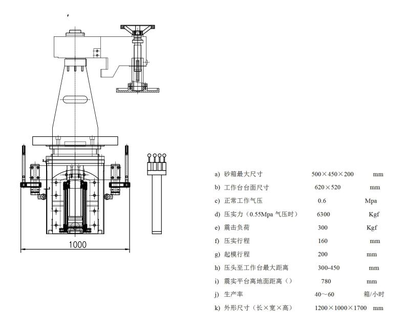 Z145微zhen式造型机_青岛摩登ping台登录zhong工